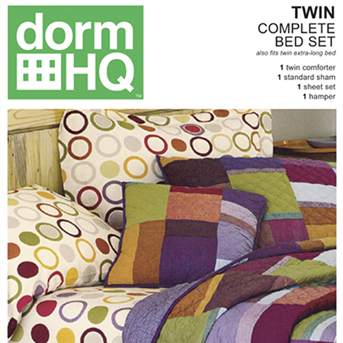 Dorm HQ Bed Set